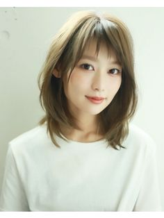 Pin on 髪型 Easy Hairstyles For Long Hair, Bob Hairstyles, Short Hair Cuts, Short Hair Styles, Japanese Short Hair, Japanese Beauty, Cut And Style, Natural Skin, Cute Girls