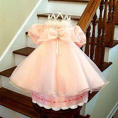 Princess Dress Diaper Cake