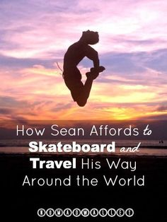 Armed with a backpack, a skateboard and a few hundred dollars, Sean set out for the Amazon. Find out more about how he does it in this interview: http://www.nomadwallet.com/travel-with-skateboard-sean-michael-hayes/