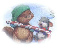 Candy Cane Animals | cute christmas candy cane animals | inspiration | Pinterest