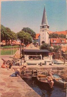 Bornholm Rønne Kirke Afsendt 1970