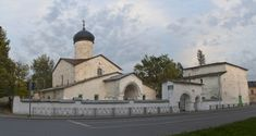 Церковь Косьмы и Дамиана с Примостья. Псков. 15 в.