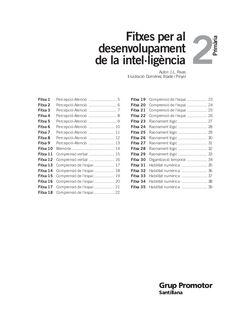 8484352544 fitxes desenvolupament intel·ligencia 2 by miriamgirona via slideshare Acting, Language, Teacher, Science, School, Grammar, Pai, Reading Comprehension, Classroom Management