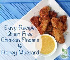 Healthy Chicken Fingers Recipe