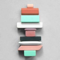 Composition Eraser Totem by Present Correct Colour Schemes, Color Combos, Color Patterns, Colour Palettes, Pencil Eraser, Look Chic, Color Theory, Color Inspiration, Calligraphy Art
