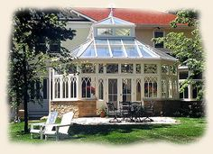 The conservatory I want attached to my house filled with orange, lemon, grapefruit and mango trees!