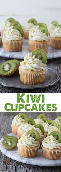 Kiwi Cupcakes – a vanilla cupcake with fresh kiwi buttercream! You might have noticed that there has been an explosion of cupcake recipes lately. And it all started with I never came out and said ...