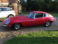 Never get bored of seeing a lovely E-Type and this fits that description #jaguar