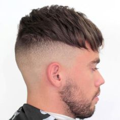 Men's Hairstyles + Cool Haircuts Update) Top 100 Men's Hairstyles & Haircuts For Men www. Cool Mens Haircuts, Cool Hairstyles For Men, Best Short Haircuts, Hairstyles Haircuts, Mens Haircuts Short Undercut, Edgy Haircuts, Men Undercut, Funky Hairstyles, Formal Hairstyles