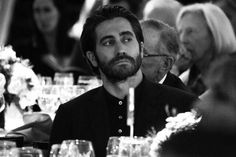 black and white - Jake Gyllenhaal is my whole life atm