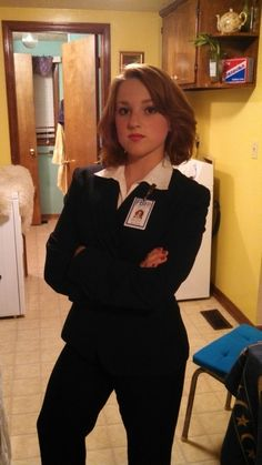 Special Agent Dana Scully from X-files #Cosplay #xfiles #geek