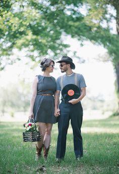 Props can only make it better! // Sean Money + Elizabeth Fay