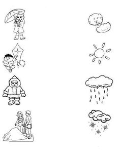 1 million+ Stunning Free Images to Use Anywhere Weather Worksheets, Weather Activities, Science Worksheets, Kids Learning Activities, Worksheets For Kids, Preschool Activities, Nursery Worksheets, Fall Preschool, Kids Class