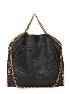 Stella Mccartney three chain Falabella faux nappa bag 1330.00 usd LUISAVIAROMA - LUXURY SHOPPING WORLDWIDE SHIPPING - FLORENCE
