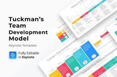 Tuckman's Team Development Model Keynote Diagrams is a professional Collection shapes design and pre-designed template that you can download and use in your Keynote. The template contains 12 slides you can easily change colors, themes, text, Gift Card Presentation, Presentation Skills, Presentation Layout, Powerpoint Presentation Templates, Keynote Template, Color Themes, Colors, Customer Experience, Color Change