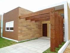 fachadas com garagens e churrasqueira - Pesquisa Google