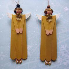 popsicle stick angels
