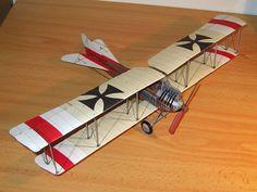 Albatros B.I paper model