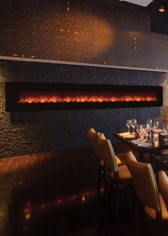 "Modern Flames 144"" Built in/Wall Mounted Electric Fireplace (AL144CLX) - Modern Blaze"