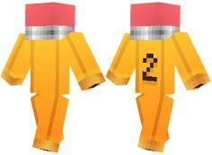 Minecraft Skins | #2 Pencil skin