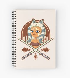 Ahsoka the padawan, the small and brave warrior is ready to free the galaxy from evil. Vector illustration. • Also buy this artwork on stationery, apparel, stickers, and more.  #Vector #AdobeIllustrator #digitalart #illustration #starwars #ahsoka #AhsokaTano #padawan #cute #tshirts #jedi #redbubble #prints #Clonewars #PrintsOnDemand #rebels #togruta #twilek #fulcrum #girl #scifi #lightsaber #sword #vector #vectorart #tshirt #cases #cartoon #prints #art #fanart #apparel #posters #notebook