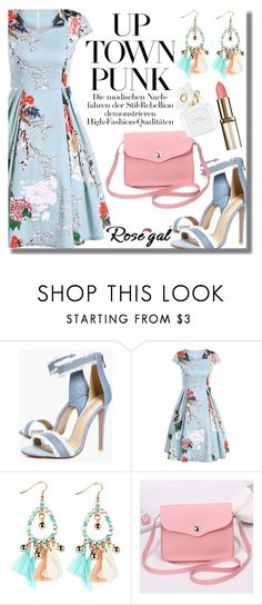 """""""Rosegal 84"""" by fattie-zara ❤ liked on Polyvore featuring Boohoo and Marc Jacobs"""