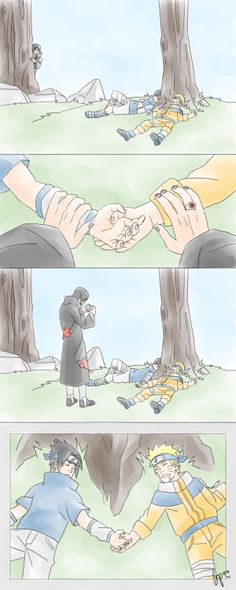 It doesn't matter how much you love this ship, Itachi will always be the hardest shipper of these two.