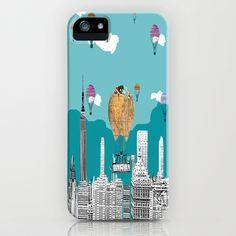 adventure days  New York iPhone & iPod Case by bri.buckley - $35.00