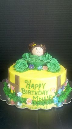 Cabbage PAtch By LEHLA on CakeCentral.com