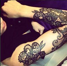 Lace Tattoo