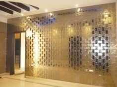 A027- light Bronze Mirror Tiles, Photo Wall, Bronze, Frame, Home Decor, Picture Frame, Photograph, Decoration Home, Room Decor