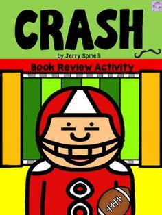 Crash by Jerry Spinelli-End of Novel Jeopardy Challenge FREEBIE ...