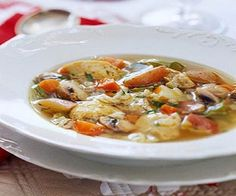 Weight Watchers Chicken Vegetable Soup