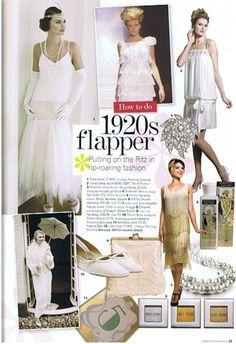 Vintage-modern flapper wedding dresses New York - The Wedding SpecialistsThe Wedding Specialists Flapper Wedding Dresses, Flapper Party, 1920s Party, 1920s Flapper, Flapper Style, Great Gatsby Theme, Great Gatsby Fashion, Great Gatsby Wedding, Harlem Nights Theme