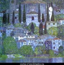 The Churche - Gustav Klimt