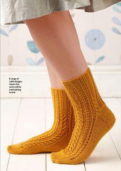 Вязание носки Shelby со схемой и описанием