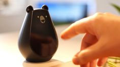 Bearbot, a cute universal remote at your command. Shot: Quentin WARDAVOIR Edit: Vivien MULLER Bearbot face animations: Laurent BOX