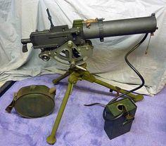 US Browning M1917 machine gun