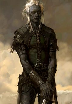Drow by Justin Sweet  http://www.justinsweet.com