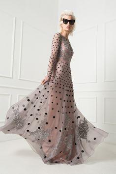 Temperley London Spring 15, Long Josette Dress