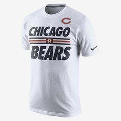 Nike Team Stripe (NFL Bears) Men's T-Shirt. Nike Store