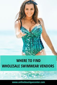 Summer time is almost here. This is the perfect time to stock the inventory for your online fashion boutique with trendy swimwear vendors. Get different styles such as: bikinis, monokinis, coverups and more swimsuits. Both regular sizes for women and plus size. #fashion #onlineboutique #boutique #bikini #monokini #wholesaleswimwear #wholesaleswimsuits #swimsuit #monokini #bikinicoverups #womenfashion #summerfashion Dresses For Teens, Club Dresses, Midi Dresses, Two Piece Swimwear, One Piece Swimsuit, Online Fashion Boutique, A Boutique, Wholesale Swimwear, Night Club Outfits