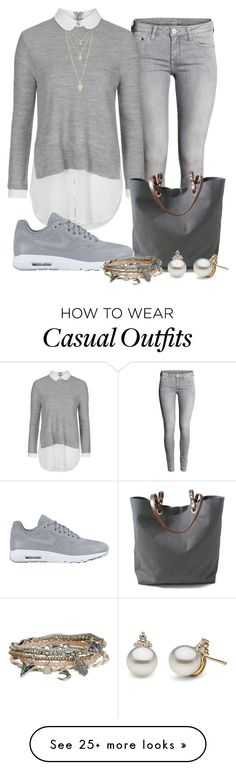 """""""casual"""" by alice-fortuna on Polyvore featuring Topshop, Independent Reign, NIKE, Forever 21, Aéropostale, women's clothing, women, female, woman and misses"""