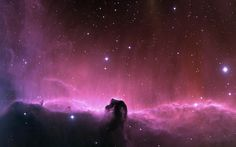 Horsehead Nebula - a dark (absorption) nebula and one of the most beautiful things in the universe.