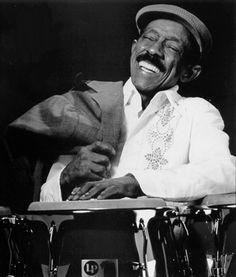 Tribute to legendary percussionist, Carlos 'Patato' Valdes.