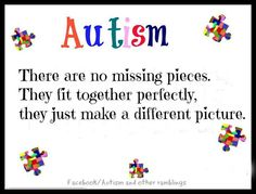One of my favorite answers to what autism really is !