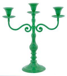 Styled Sealed Delivered - Kelly Green Candelabra - entertaining - event decoration