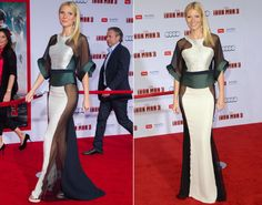 """REDCARPET- It was the year for sheer! When it came time to dress up for the red carpet, these stars operated under the mantra """"less is more,"""" donning see-through gowns that often had us asking """"what was she thinking?!"""" Check out the most daring dresses of 2013 ..."""