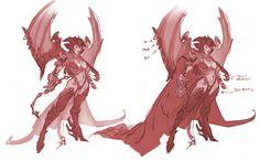 Darksiders Fury Concept Art Darksiders fury concept art