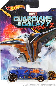 HOT WHEELS GUARDIANS OF THE GALAXY Vol.2 Full Set 5//5